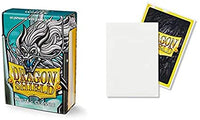 Dragon Shield - 60 Protèges cartes format japonais - Blanc