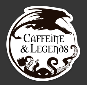 Caffeine and Legends Stickers