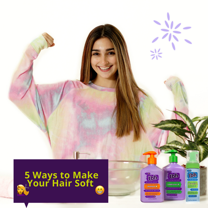 5 Ways to Make Your Hair Soft