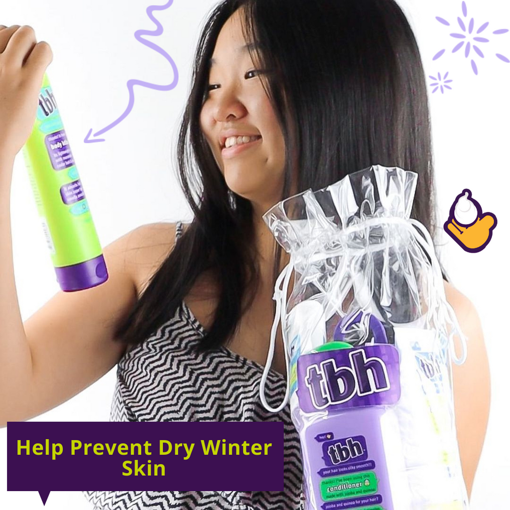 Help Prevent Winter Dry Skin for Teenagers
