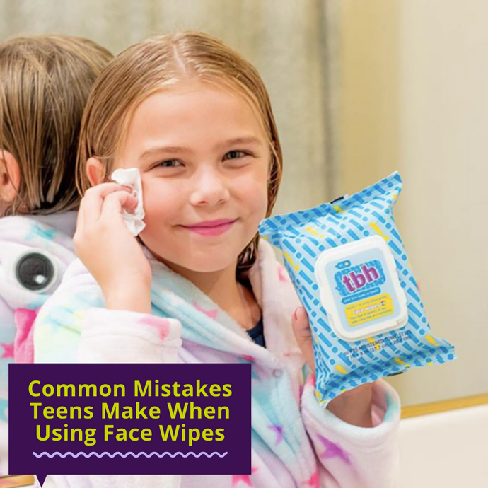 Common Mistakes Teens Make Using Face Wipes