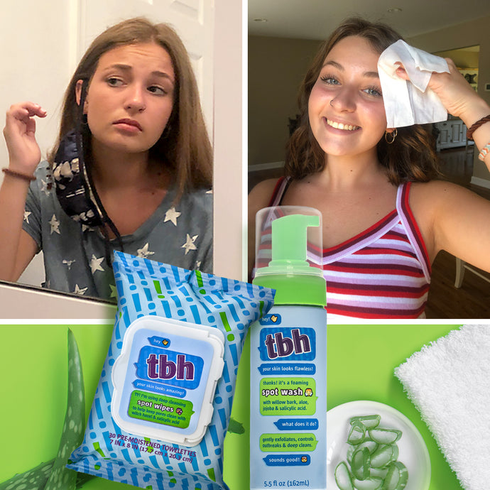 Maskne and Your Teen's Skincare Routine: How to Prevent Acne Around Mouth