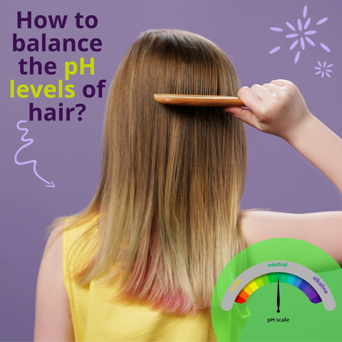 How to balance the pH levels of hair