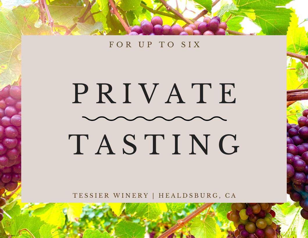 Private Tasting at Winery