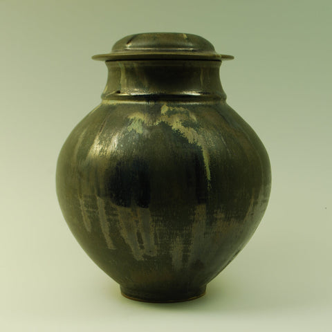 Handmade Classical Individual Ceramic Cremation Urn For Ashes