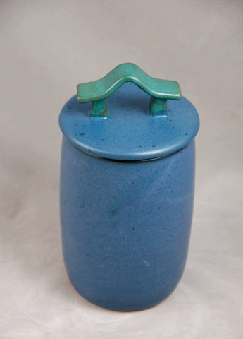 Teal Blue Pet or Sharing Ceramic Urn
