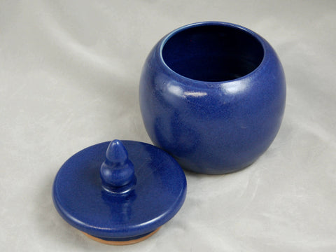 Cobalt Blue Pet or Sharing Ceramic Urn
