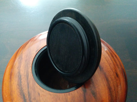 Lid for Patagonia Rosewood Pet or Sharing Urn With Screw On Lid for Ashes
