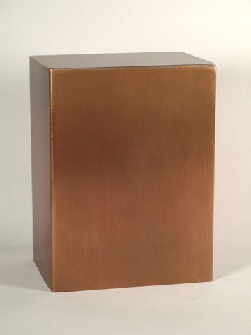 Handcrafted Marigny Copper Cremation Urn