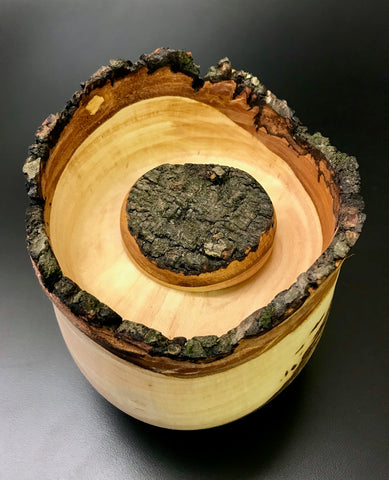 Handmade Wooden Cremation Pet or Sharing Urn for Ashes
