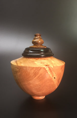 Handmade Wooden Cremation Urn For Ashes