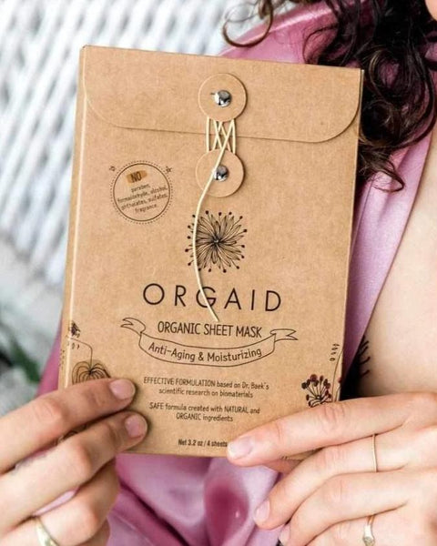Organic Sheet Mask | Anti-Aging and Moisturizing - shopbanshee - Orgaid
