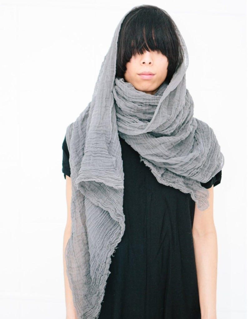Cotton Scarf / Mustard - shopbanshee