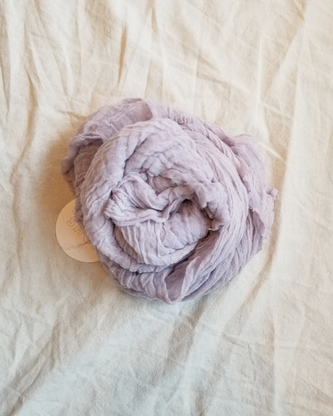 Cotton Scarf / Lilac - shopbanshee