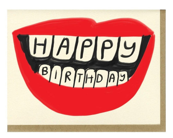 Birthday Lips Card - shopbanshee - People I've Loved