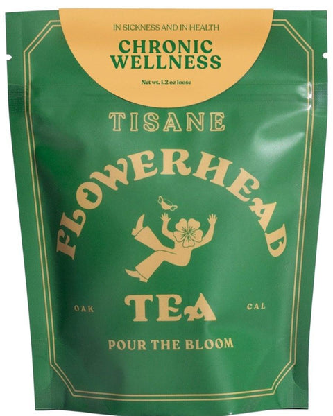 Chronic Wellness Loose Tea - shopbanshee - Flowerhead Tea