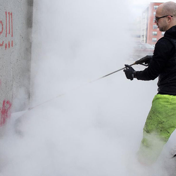 Wash Away Hate: One Man's Pressure Washing Crusade
