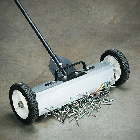 Picking up small metal objects using the Magnetic Sweeper