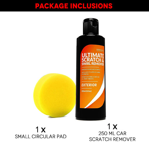 250 ML Car Scratch Remover and Circular Pad