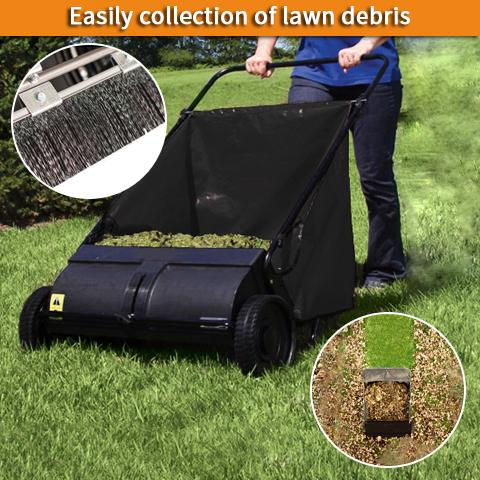 Lawn Sweeper for Garden Clearing