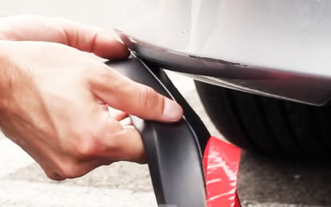 Easy to install; peel and stick installation