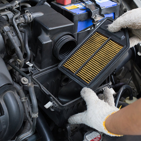 Changing Air Filters Image