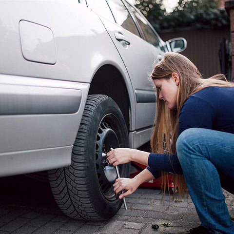 Changing Flat Tires