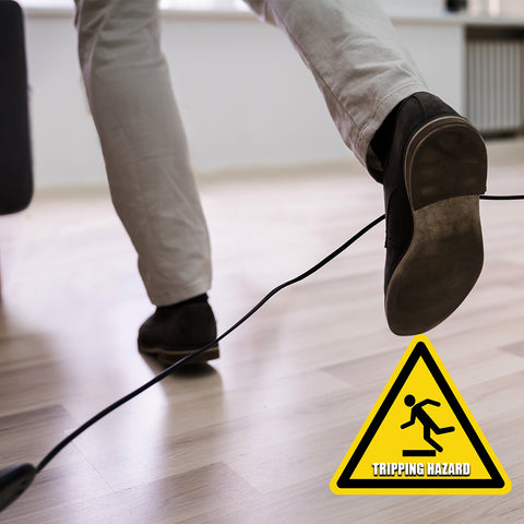 Prevent tripping hazards with Cordless Tools