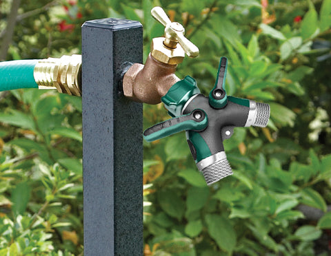3 way garden hose splitter