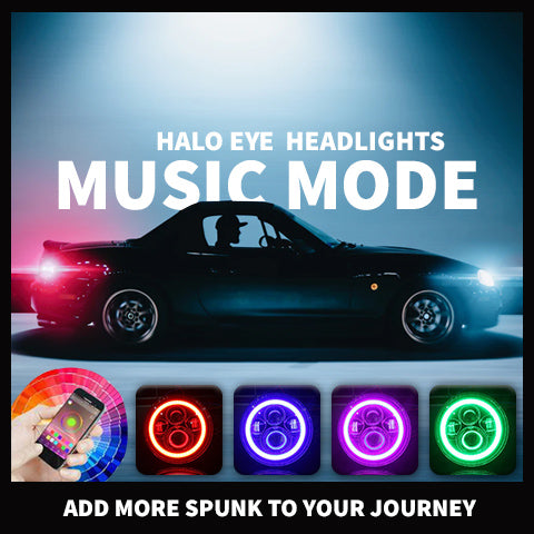 halo headlights for sale