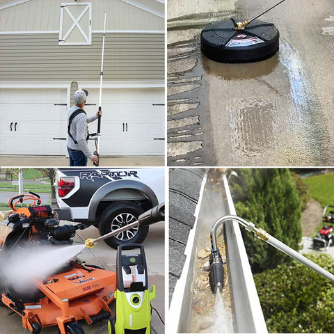 (All pressure washers available on bestcargurus collage)