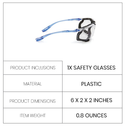 Safety Glasses Specifications