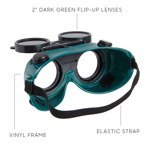 Safety Flip Up Goggles