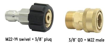 pressure washer adapter set