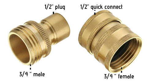 pressure washer adapter for hose