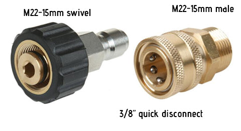 pressure washer adapter
