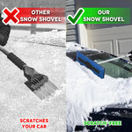Telescoping Snow Broom And Ice Scraper (2-Pack)