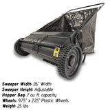 lawn sweeper best