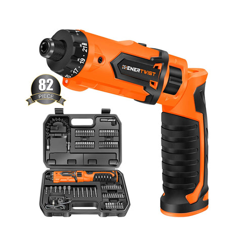 8V Cordless Screwdriver with Accessory Kit