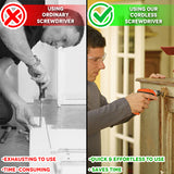 Cordless Automatic Screwdriver Vs. Manual Screwdriver