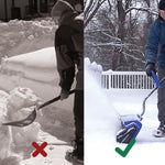 🎉 2021 #NEWYEARSALE 🎉 24V Cordless Snow Shovel Kit | SAVE $60 OFF 💸+ FREE SHIPPING 🚚