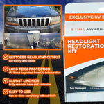 DIY Headlight Restoration Kit