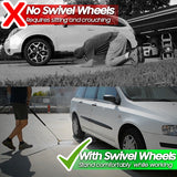 Pressure Washer Undercarriage Cleaner Swivel Wheel