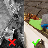 2-in-1 Gutter Cleaning Claws and Scoop