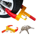 Tire Claw Clamp (Attached and Unattached) + Keys