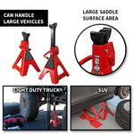 Heavy Duty Steel Jack Stands