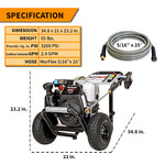 gas pressure washer for cars