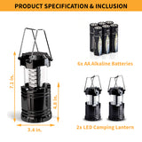 the best led camping lantern