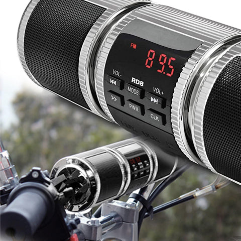 motorcycle bluetooth stereo