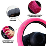 Plush Steering Wheel Cover